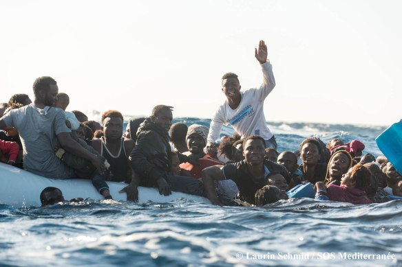 SOS Mediterranee; Medecins sans frontieres; Search and ARescue M
